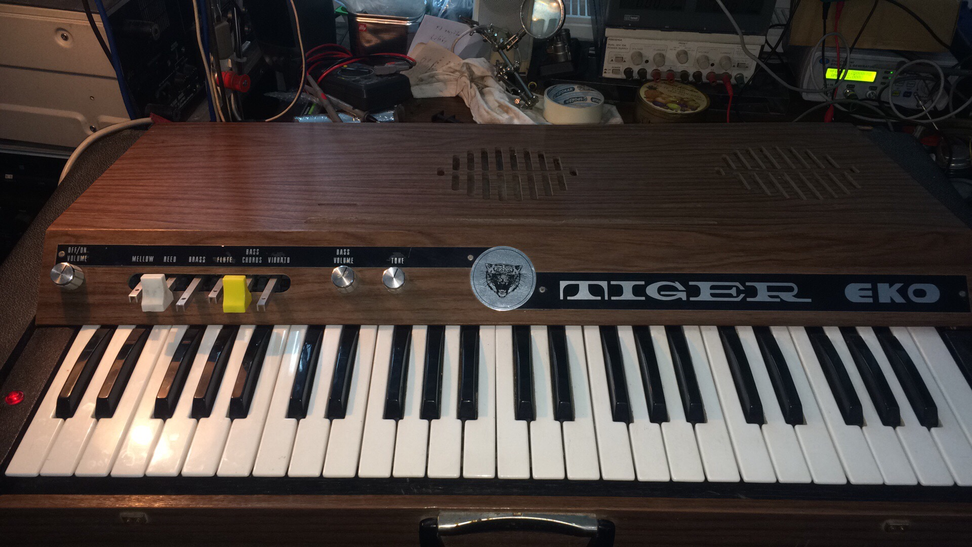 Organs / Synthesizers   Vintage Audio Repairs