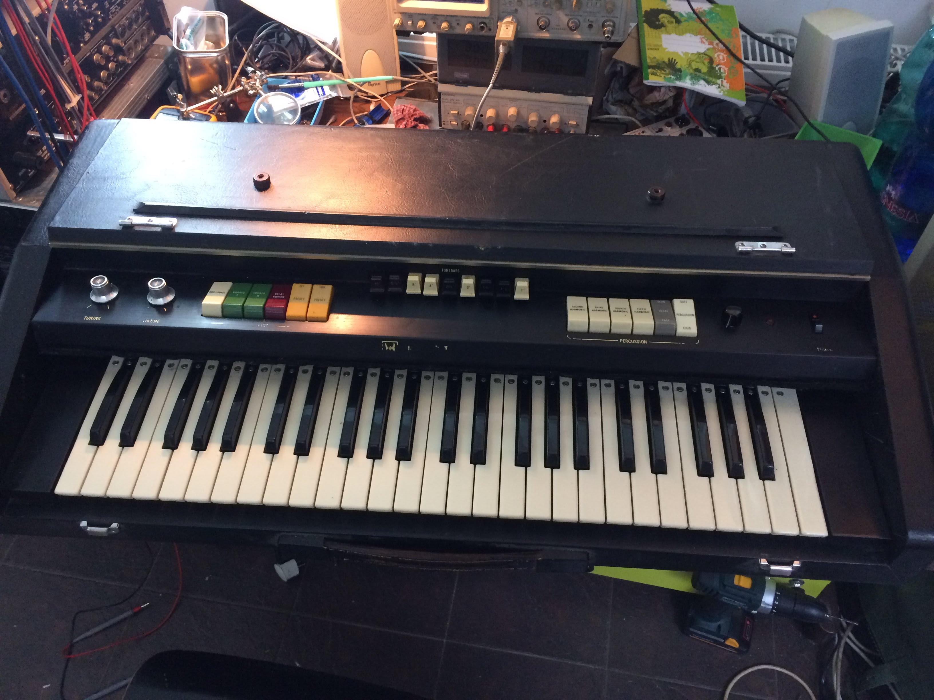 Toy Keyboard Project Wah Circuit Second Hand Synth